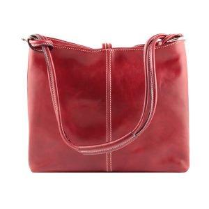 Borse rosse - borsetta rossa - borsa rossa - borsa cuoio Firenze