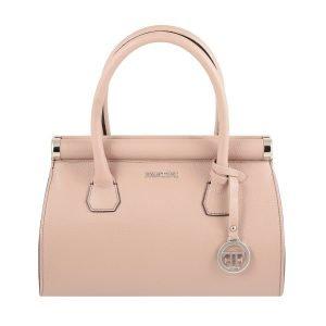 Borsa donna rosa Fantini Made in Italy vera pelle borsa a mano in pelle Fantini