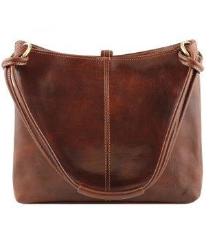 Borsa marrone - borsa color cuoio - borsette cuoio - borsa firenze