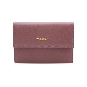 Portafoglio Fantini donna rosa antico in pelle Made in Italy portafoglio Fantini