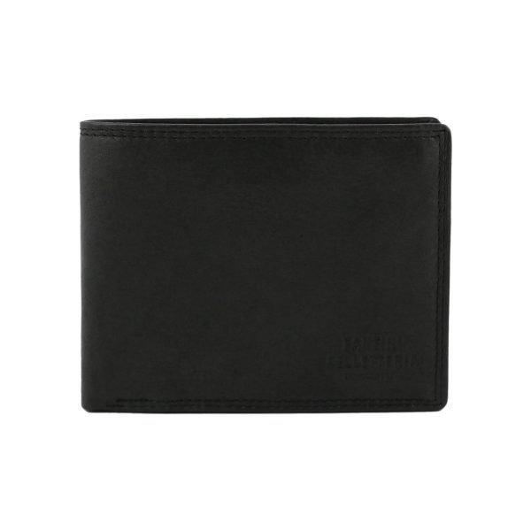 Portafoglio pelle piccolo - portafoglio in pelle nero - portafoglio nero