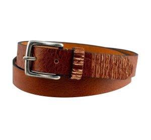 Cintura in pelle Marrone chiaro elegante