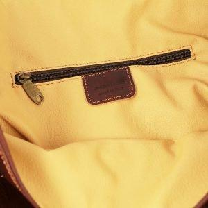 Interno borsa da viaggio in pelle giglio tasca interna Genuine leather