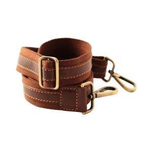 Tracolla di borsone in pelle cuoio firenze tracolla regolabile borsone a spalla