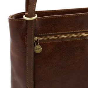 Borse cuoio tracolla - borsette a tracolla - borsa con cerniera - borsa tracolla donna