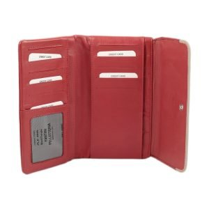 Portafoglio donna grande - portafoglio carte di credito - portafoglio donna carte