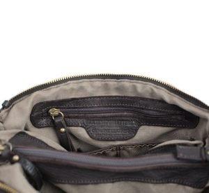 Borsa artigianale pelle - borsa genuine leather - borsa made in italy - borsa marrone