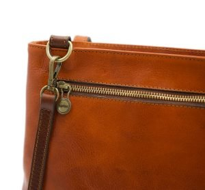 Borsa zip - borse con zip - borsa cerniera - borsa Fantini - borsa pelle