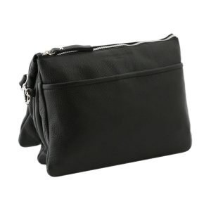 Borsetta nera - borsa nera pelle - borsa pelle nera - borsette nere