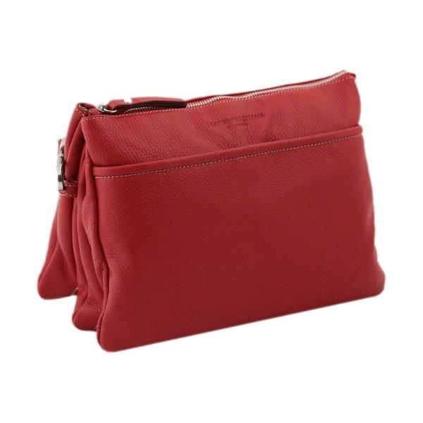 Borse rosse tracolla - Borsetta Rossa - Borsa Pelle rossa - Borse in pelle rossa