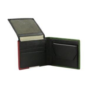 Portafoglio uomo piccolo - portafoglio in pelle piccolo - portafoglio con portamonete