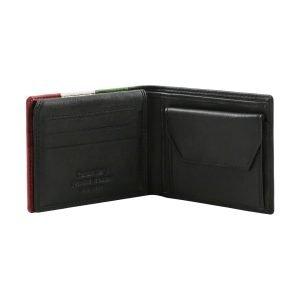 Portafoglio con portamonete - portafoglio uomo piccolo - portafogli slim