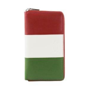 Borse Italiane - ingrosso pelletteria - portafoglio Italia - tricolore
