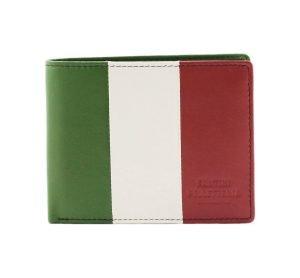 Portafoglio Italia - Portafoglio Italiano - portafoglio bandiera Italiana