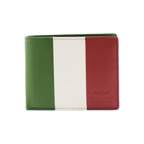 Portafoglio Italia - Portafoglio bandiera italiana - Portafoglio tricolore