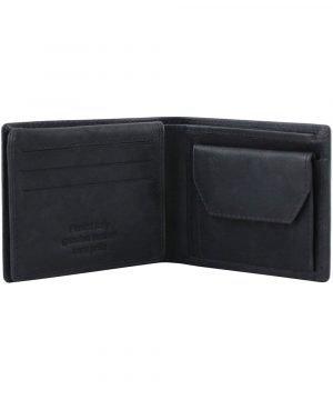 Portafoglio in vera pelle con portamonete - portafoglio cuoio pelle - portamonete