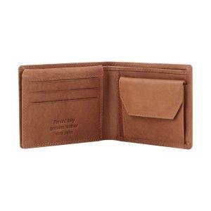 Portafoglio in pelle uomo - portafoglio con portamonete - portafoglio in pelle uomo