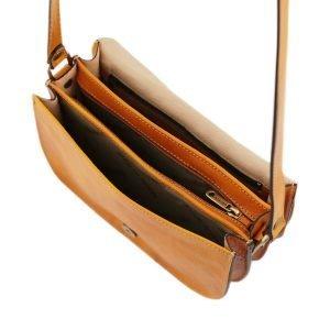 Borsa tre compartimenti - borsa divisa in tre - borsa a tracolla capiente