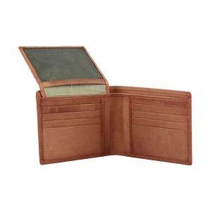 Portafoglio in pelle - portafoglio senza portamonete - porta carte di credito