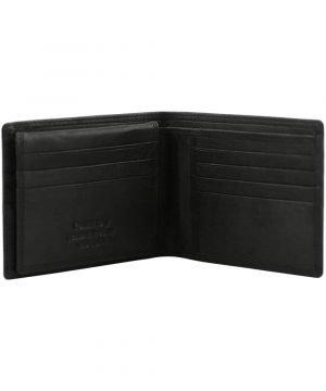 Portafoglio senza porta monete - portafoglio con carta di credito - portafoglio uomo pelle
