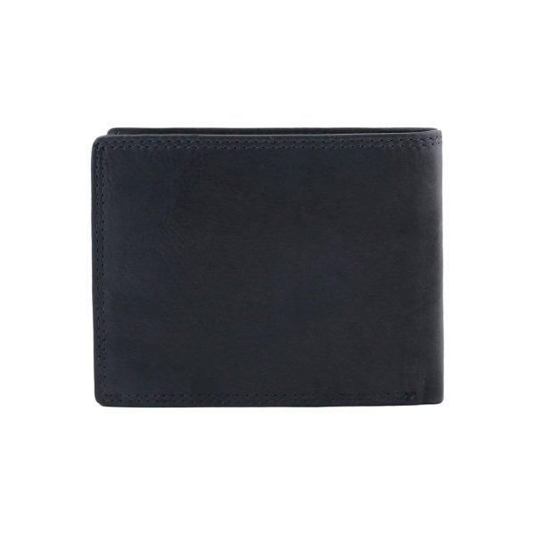 Portafoglio blu scuro - portafoglio pelle uomo - portafoglio in pelle