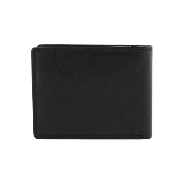 Portafoglio nero - portafoglio uomo - portafoglio sottile