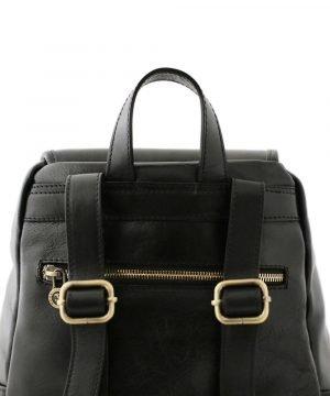 Tasca posteriore - zaino con tasca esterna - zaino con cerniera estera